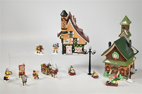 Department 56 Heritage Village Collection North Pole Series