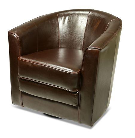 Barrel Back Club Chair