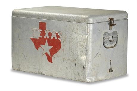 Vintage Texas Ice Chest