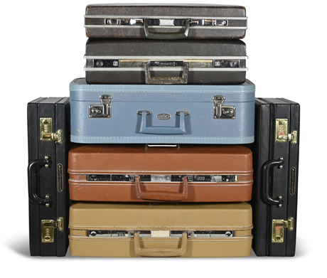 Vintage Luggage Collection