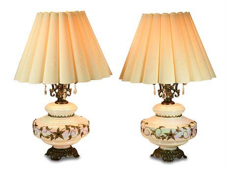Hollywood Regency Falkenstein Lamps