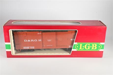 LGB 4067 D&RGW Box Car