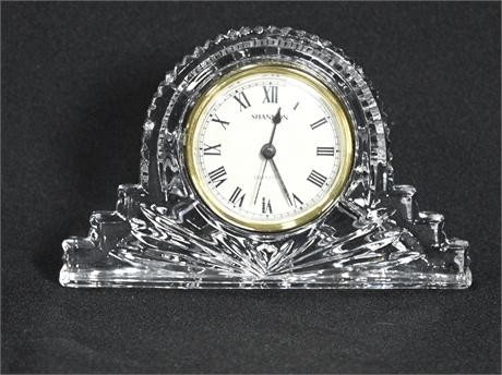 Shannon by Godinger Crystal Clock