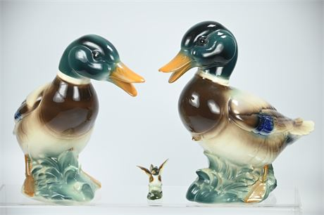 Vintage Ceramic Ducks