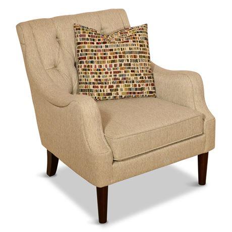 Tufted Back Armchair