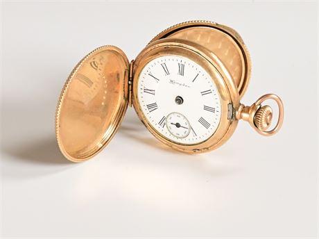 Hampden Dueber Ladies Pocket Watch