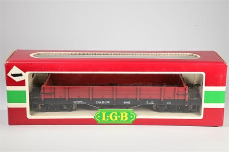 LGB - Lehmann #4061 Low Sided Gondola