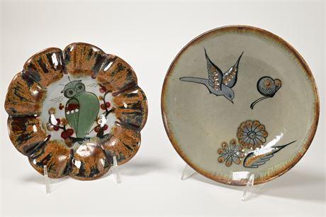 Vintage Ken Edwards Tonala Collectible Pottery