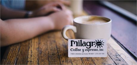$50 Gift Card at Milagro Coffee & Espresso