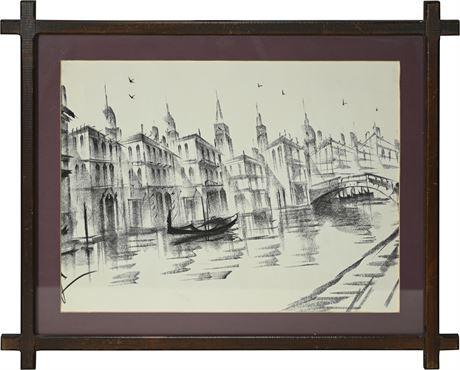 Venetian Print
