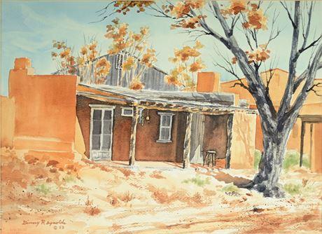 Ginny Reynolds Original Watercolor Dated 1983
