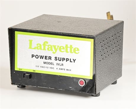Lafayette IVLR Power Supply