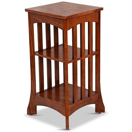 Mission Style Oak Side Table