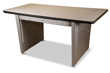 Art Deco All-Steel Industrial Desk