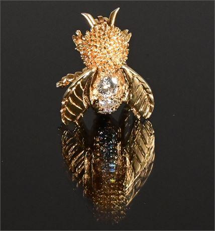 14K and Diamond Bumble Bee