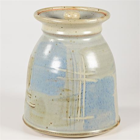 Ackerman Stoneware Lidded Jar
