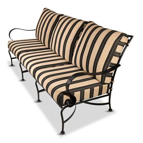 O.W. Lee Patio Sofa & Table Set