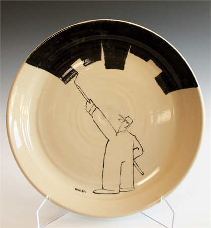 Stephen Hansen and Cally Williams Plate