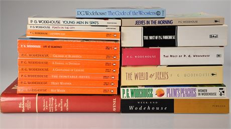 Collection of P.G.Wodehouse Books