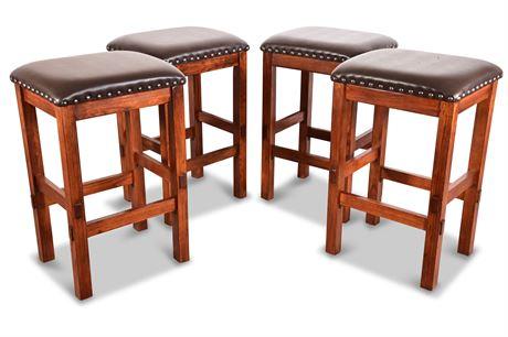 Set of Four Barstools