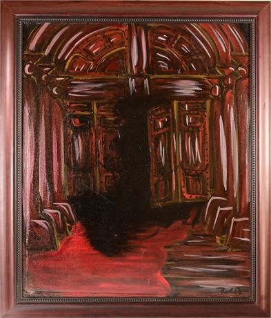 God's Waiting Room By Ramon Elias Luna-Olivas III