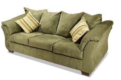 Darcy Sage Full Sofa Sleeper