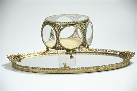 Stylebuilt Filigree Jewelry Casket