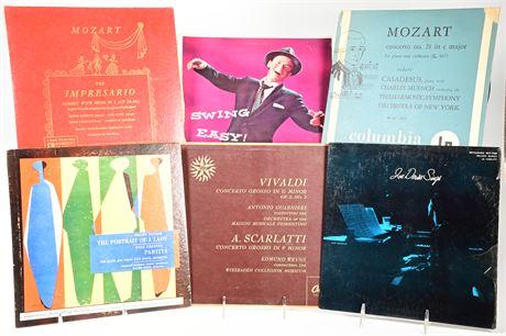 (26) Classical 33 RPM Records