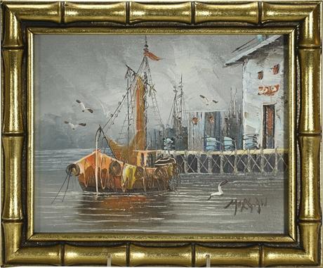 Morgan Original Oil on Canvas