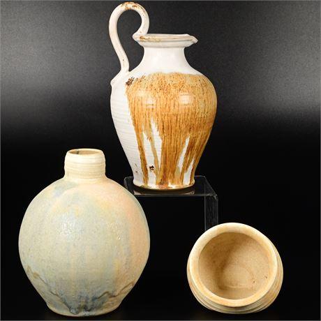 Marty North Stoneware Vases