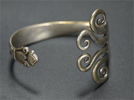 Sterling Fork Bracelet