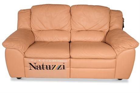 Natuzzi Reclining Loveseat