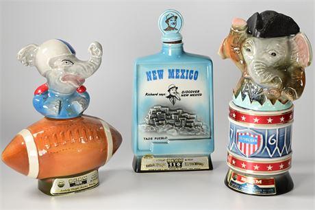 Vintage Jim Beam Bottles