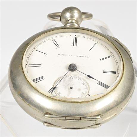 Antique Hampden Deuser Pocket Watch