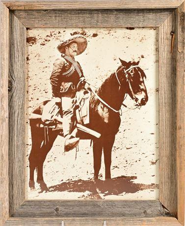 Pancho Villa Framed Photo