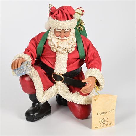 Kurt Adler Fabriché Santa