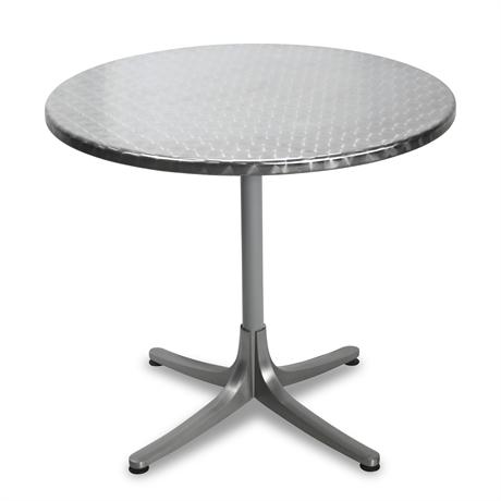 Schaffner Swiss Steel Tilt-Top Patio Table