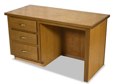 Solid Wood Desk (Plywood)