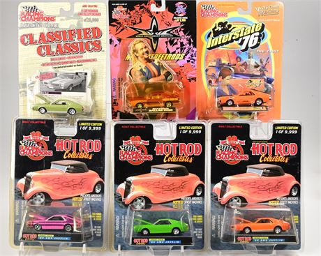 (6) Racing Champions Hot Rods & Street Rods