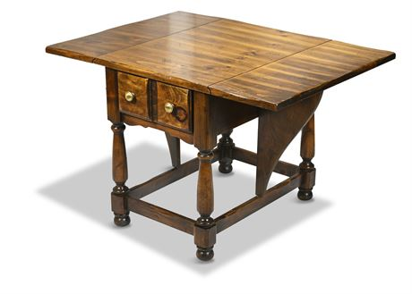 Thomasville Double Drop Leaf Side Table