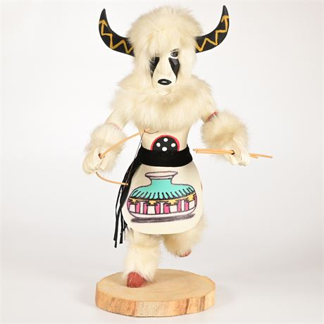 Vintage Buffalo Warrior Kachina