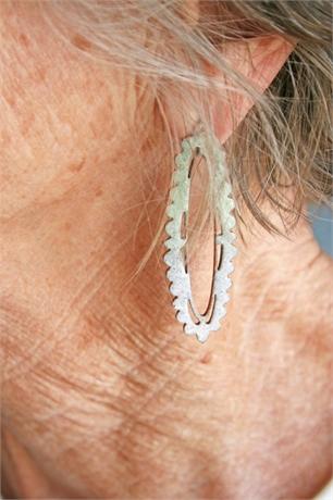 Sephra Reyes Dramatic Enamel Earrings