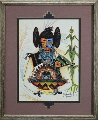 Zuni Artist Wayne D. Paquin Limited Edition