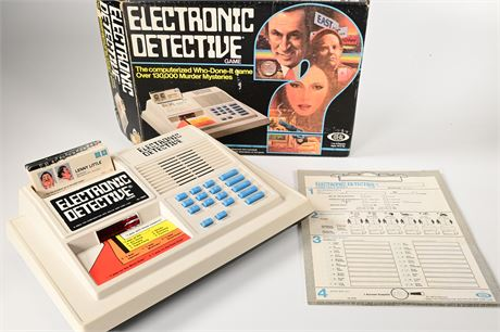 Electronic Detective Game