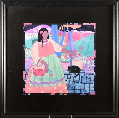 Julie Vance Framed Prints