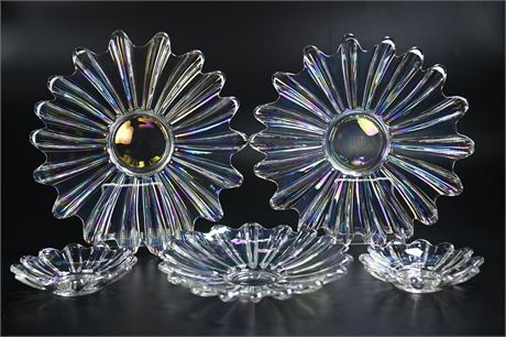 Iridescent Serving Dishes