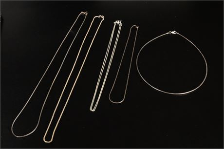 Sterling Silver Necklaces and Choker