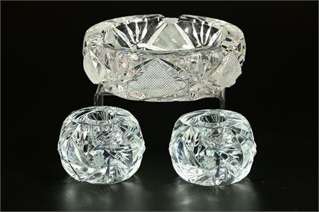 Cut Glass Decor