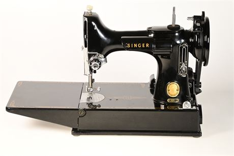 1957 Singer Featherweight with Accessories