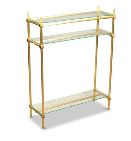 Gilded Accent Table